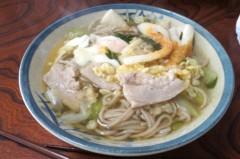 川島けん 公式ブログ/[Lunch]肉野菜卵そば 画像1