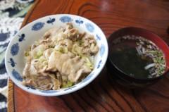 川島けん 公式ブログ/[塩葱豚バラ丼]都心はスゴイ暑いんだな。 画像1