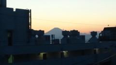 川島けん 公式ブログ/今日の富士山。 画像1