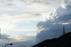 川島けん 公式ブログ/【夕焼けハンター】久しぶりに雲がきれい 画像1