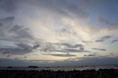 川島けん 公式ブログ/夕焼けハンター 夜中ですが... 画像1