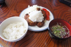 川島けん 公式ブログ/[Lunch]おろしトンカツ定食。 画像1