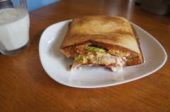 川島けん 公式ブログ/[Lunch]ホットサンド 画像1