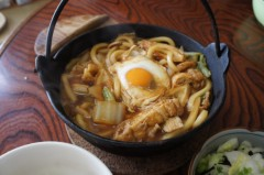 川島けん 公式ブログ/[Lunch]味噌煮込みうどんと白菜漬け 画像2