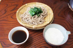 川島けん 公式ブログ/[Lunch]ニラざるそばととろろ 画像1