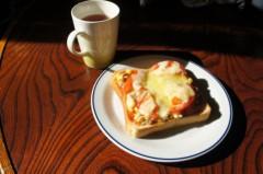川島けん 公式ブログ/[Lunch]オープンサンド 画像2
