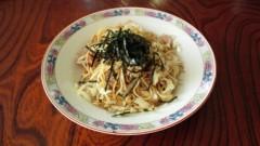 川島けん 公式ブログ/[Lunch]塩やきそば 画像1