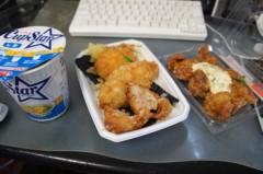 川島けん 公式ブログ/[ほっともっと・特のりから弁当+カップラーメン] 画像1