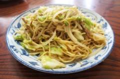川島けん 公式ブログ/[Lunch]塩蒸しやきそば 画像2