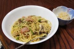 川島けん 公式ブログ/[Lunch]きのこパスタ。 画像1