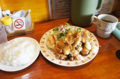 川島けん 公式ブログ/[Lunch]みぞれ唐揚げ定食 画像2