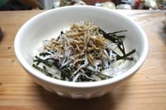川島けん 公式ブログ/[夜食]白米旨い! 画像2