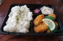 川島けん 公式ブログ/[Lunch]カキフライ弁当 画像1