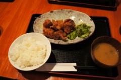 川島けん 公式ブログ/[Lunch]唐揚げ定食 画像3
