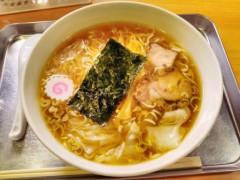 川島けん 公式ブログ/日吉駅・日吉大勝軒 ワンタン麺 麺半分 画像1