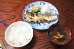 川島けん 公式ブログ/[Lunch]塩鯖焼きごはん 画像1