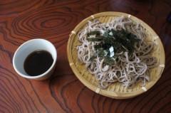 川島けん 公式ブログ/[Lunch]もりそば 画像2