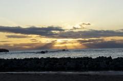 川島けん 公式ブログ/雲がきれいな夕焼けでした 画像2