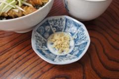 川島けん 公式ブログ/[Lunch]焼き鳥丼と小かけそば。 画像3