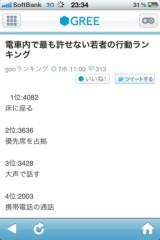 Act 公式ブログ/電車のマナーは守りましょ☆ 画像1