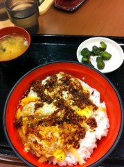 Act 公式ブログ/食べるラー油カツ丼♪( ´▽`) 画像1