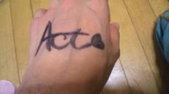 Act 公式ブログ/一夜明けて 画像2