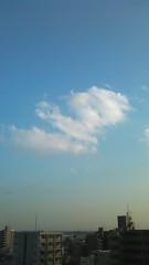 中山優貴 公式ブログ/今日の空 画像1