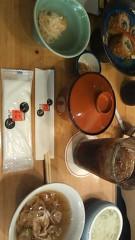 中山優貴 公式ブログ/夕食 画像1