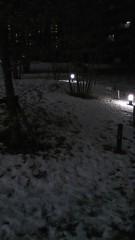 中山優貴 公式ブログ/雪 画像1