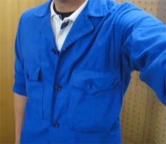 新人 公式ブログ/ファッションチェ〜ク  青のっ 画像1