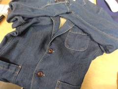 新人 公式ブログ/ファッションチェ〜く     ジャケットリノベ 画像1