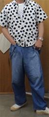 新人 公式ブログ/ファッションチェ〜く 白地に水玉 画像3
