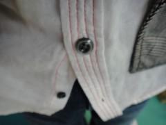 新人 公式ブログ/ファッションチェ〜ク 赤ステッチ  ステッチでしょ! 画像2