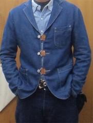 新人 公式ブログ/ファッションチェ〜く     ジャケットリノベ 画像3