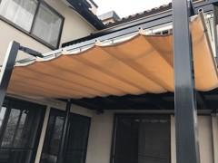 新人 公式ブログ/ビフォアフター N邸 テント工事 画像2