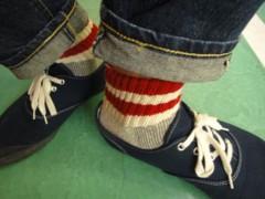 新人 公式ブログ/ファッションチェ〜ク 赤ステッチ  ステッチでしょ! 画像3