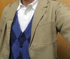 新人 公式ブログ/ファッションチェ〜く  アーガイルチェック 画像1
