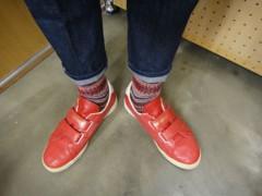 新人 公式ブログ/ファッションちぇ〜く 赤で気合をっ 画像3