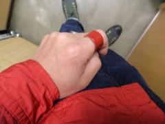 新人 公式ブログ/ファッションチェ〜ク 赤シャツ 画像3
