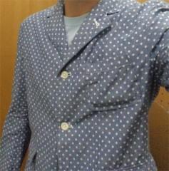 新人 公式ブログ/ファッションチェ〜く 水玉ジャケット 画像1