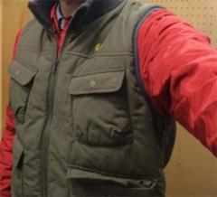 新人 公式ブログ/ファッションチェ〜ク 赤シャツ 画像1