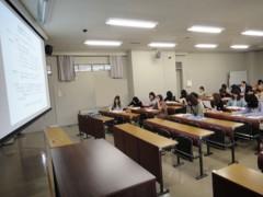 新人 公式ブログ/同志社女子の授業に 画像2