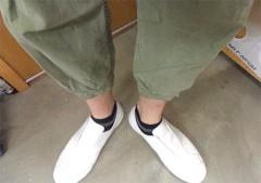 新人 公式ブログ/ファッションチェ〜く 白の開襟シャツ 画像2