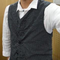 新人 公式ブログ/ファッションちぇ〜く  ドットジレ 画像1