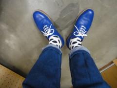 新人 公式ブログ/ファッションチェ〜ク  青のっ 画像3