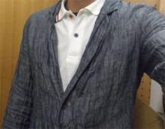 新人 公式ブログ/ファッションチェ〜く  しわしわ ジャケっつ 画像1