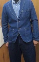 新人 公式ブログ/ファッションチェ〜く     ジャケットリノベ 画像2