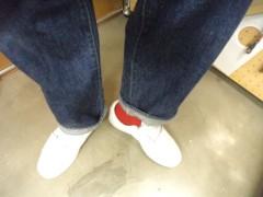 新人 公式ブログ/ファッションチェ〜ク  ポイントカラーは赤 画像3