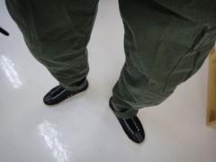 新人 公式ブログ/ファッションチェ〜ク 今日はボトムから 画像2