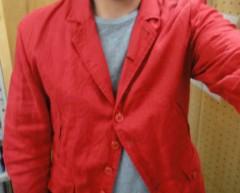 新人 公式ブログ/ファッションちぇ〜く 赤の 画像1